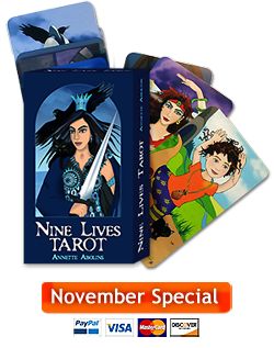 Nine Lives Tarot special offer