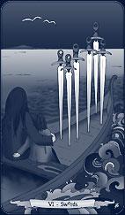 6 of Swords
