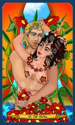 The Lovers - illustrated by Annette Abolins
