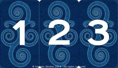 3 card reading Nine Lives Tarot