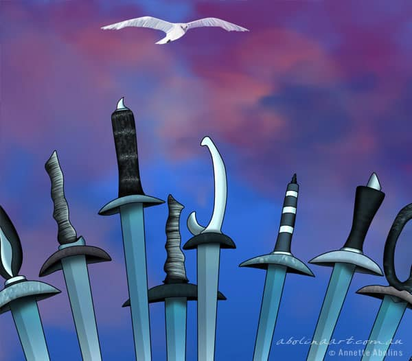 10 of Swords - Annette Abolins