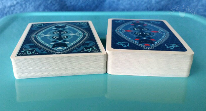 Comparing deck editions
