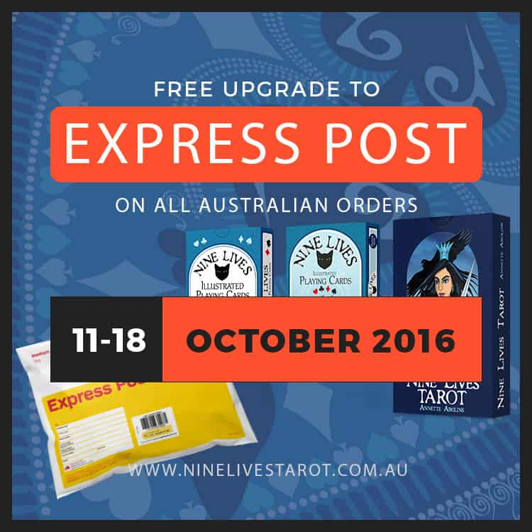 Australian Orders Free upgrade to Express Post
