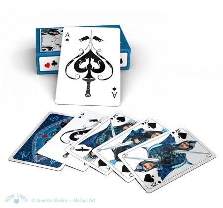 Card examples - spades