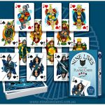 Parade of the Courts from Nine Lives Playing Cards