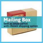 shipping cardboard box