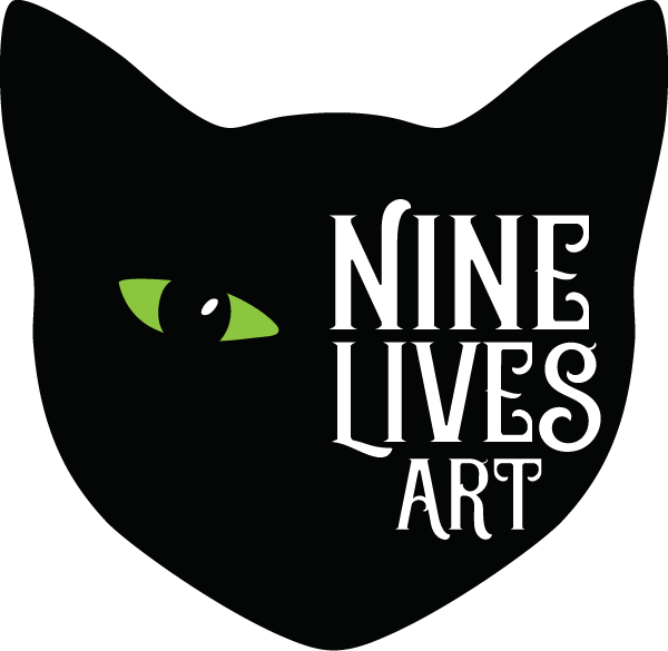 Nine Lives Art logo