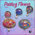 paisley flower rings
